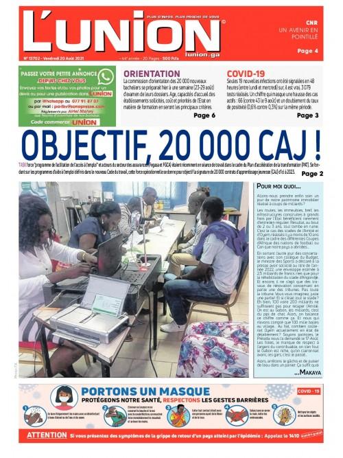 L'Union 20/08/2021