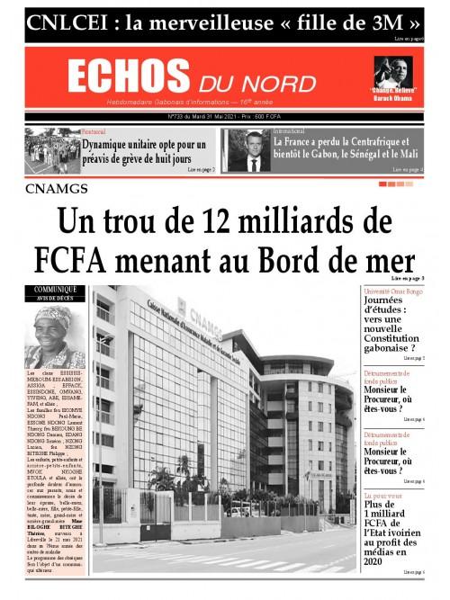 Echos du Nord 31/05/2021