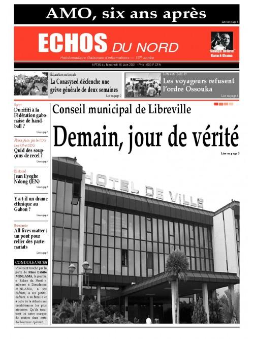 Echos du Nord 16/06/2021