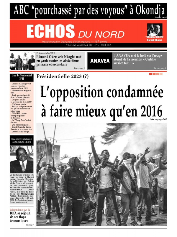 Echos du Nord 23/08/2021