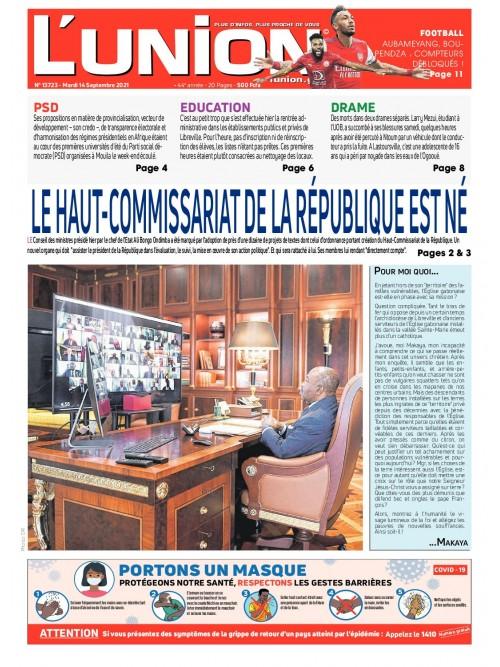 L'Union 14/09/2021
