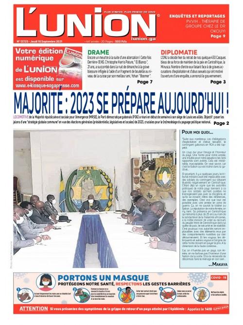 L'Union 16/09/2021