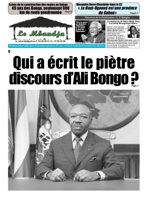Le Mbandja 20/08/2021