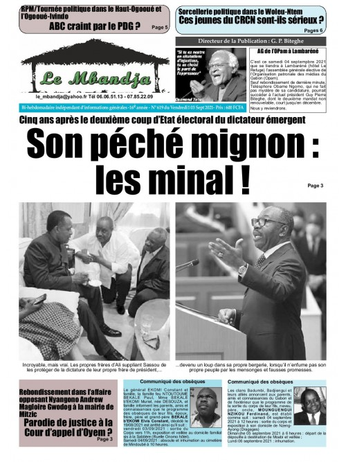 Le Mbandja 03/09/2021