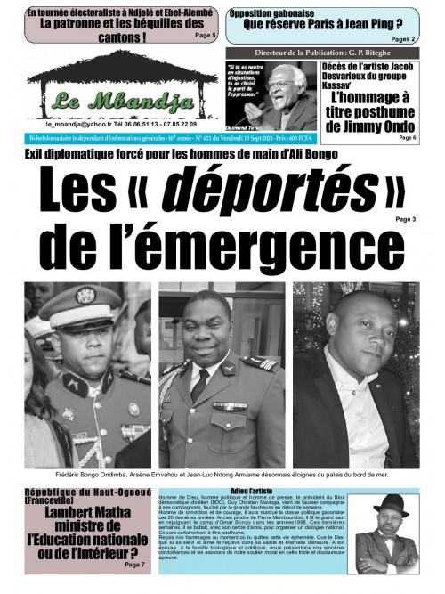 Le Mbandja 10/09/2021