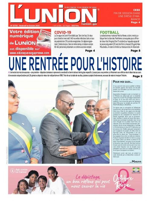 L'Union 01/10/2021