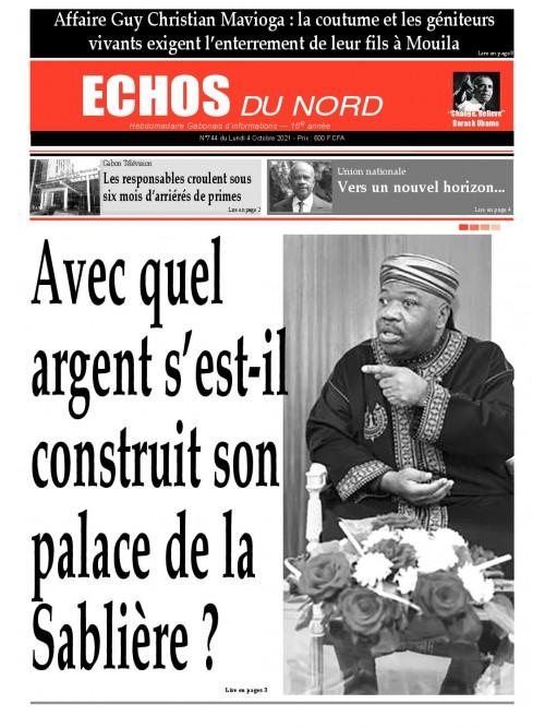 Echos du Nord 04/10/2021