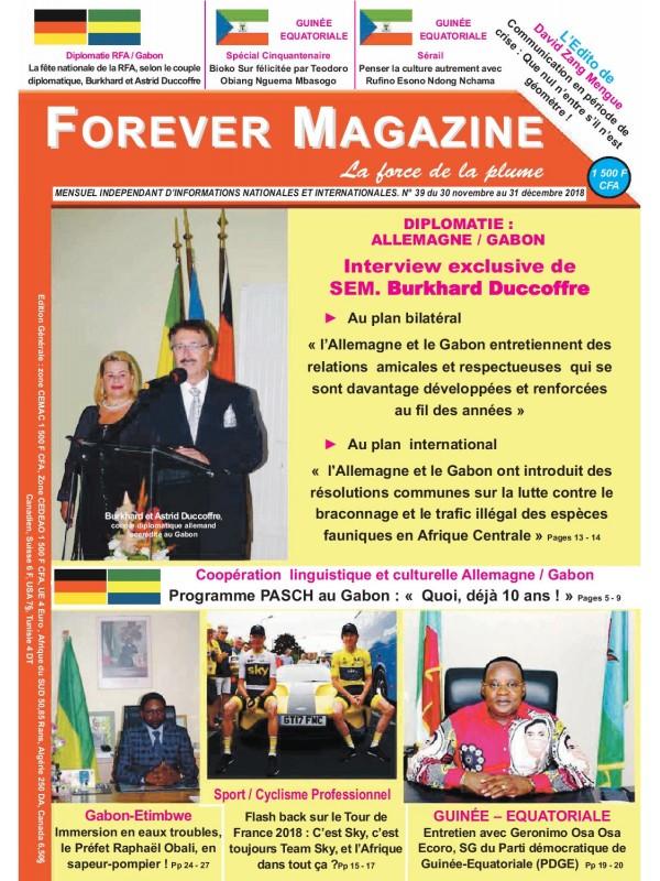 Forever Magazine 30/11/2018