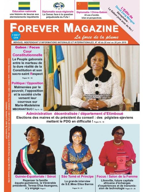 Forever Magazine 20/05/2019
