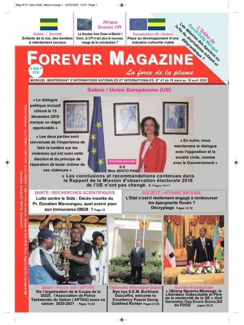 Forever Magazine 24/08/2021