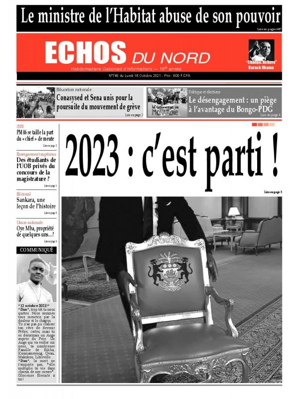 Echos du Nord 18/10/2021