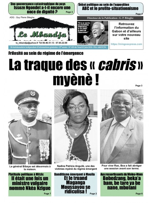 Le Mbandja 01/06/2018