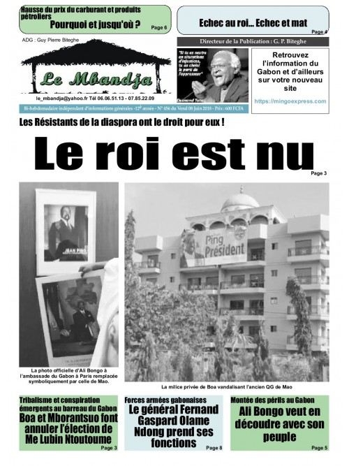 Le Mbandja 08/06/2018