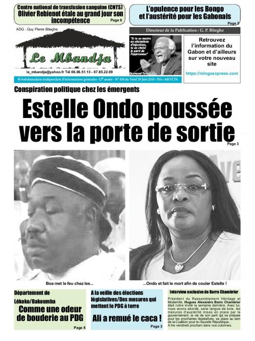 Le Mbandja 29/06/2018