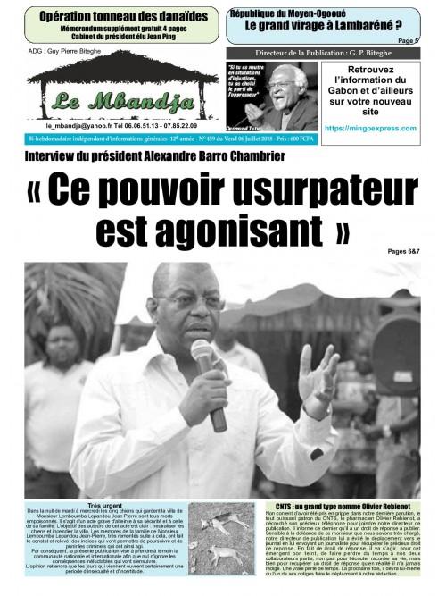 Le Mbandja 06/07/2018