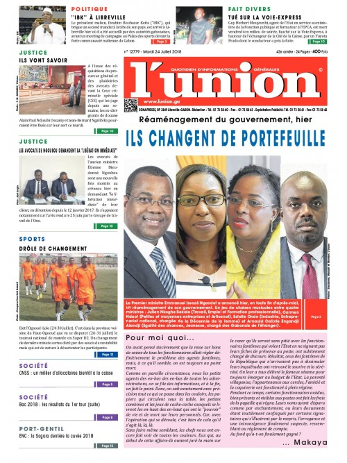 L'Union 24/07/2018