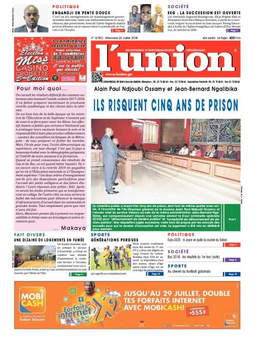 L'Union 25/07/2018