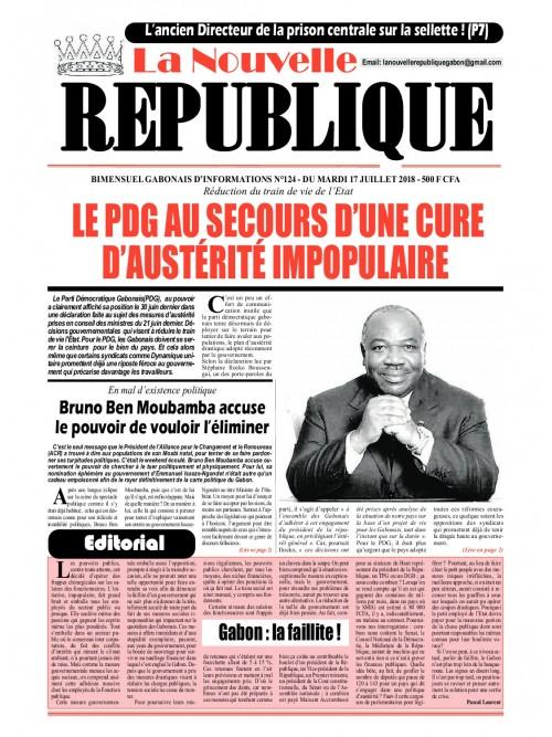La Nouvelle Republique 17/07/2018