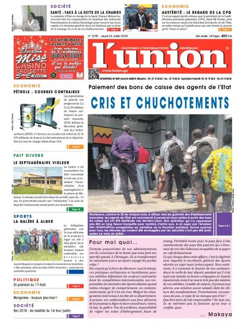 L'Union 26/07/2018