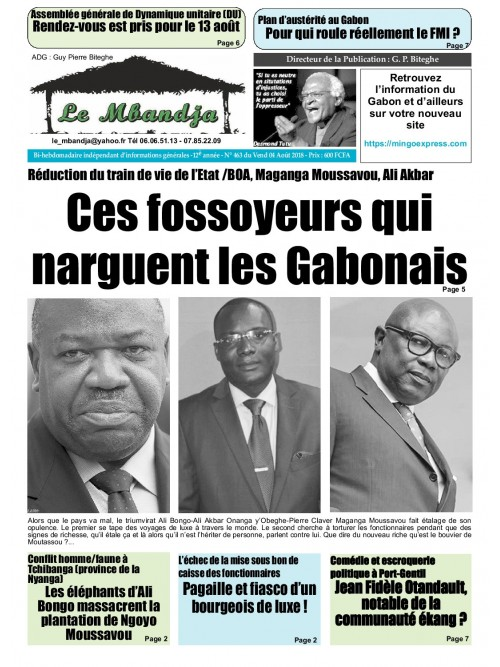 Le Mbandja 03/08/2018