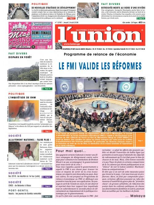 L'Union 02/08/2018