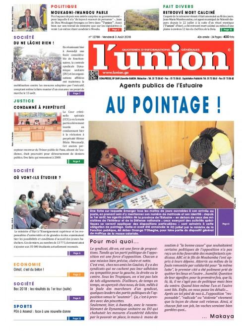 L'Union 03/08/2018