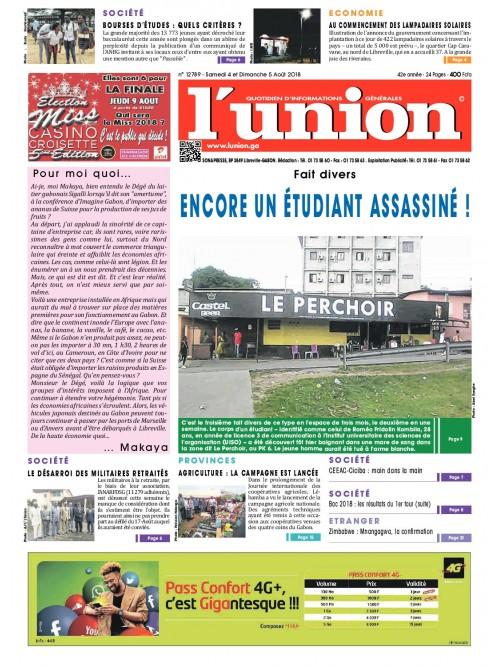 L'Union 04/08/2018