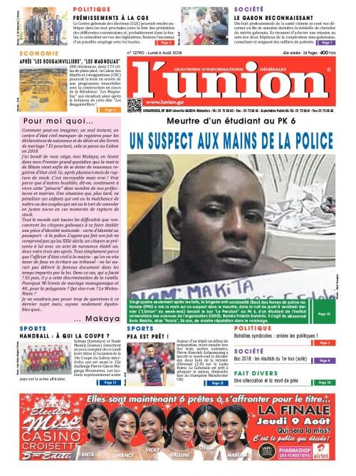 L'Union 06/08/2018