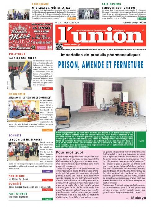 L'Union 09/08/2018