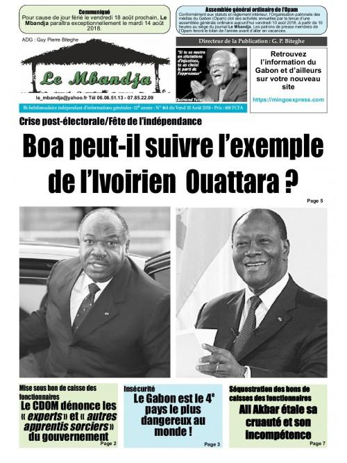 Le Mbandja 10/08/2018