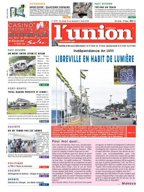 L'Union 14/08/2018