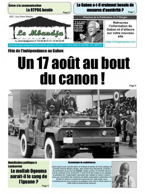 Le Mbandja 14/08/2018