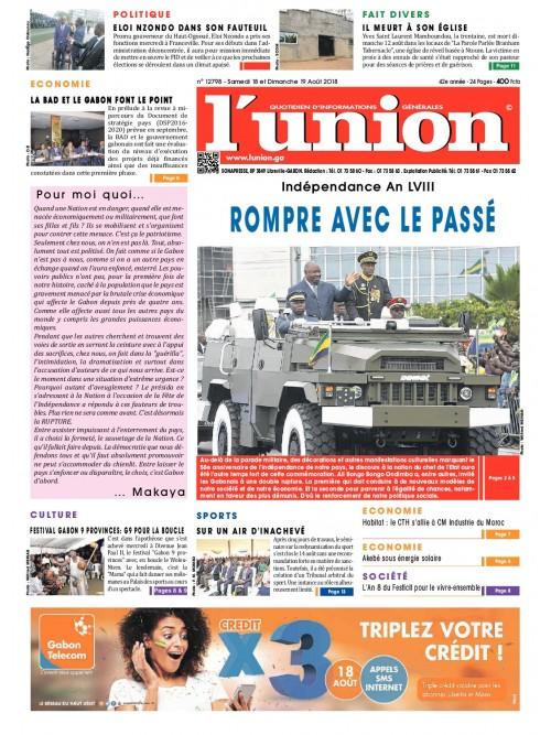 L'Union 18/08/2018
