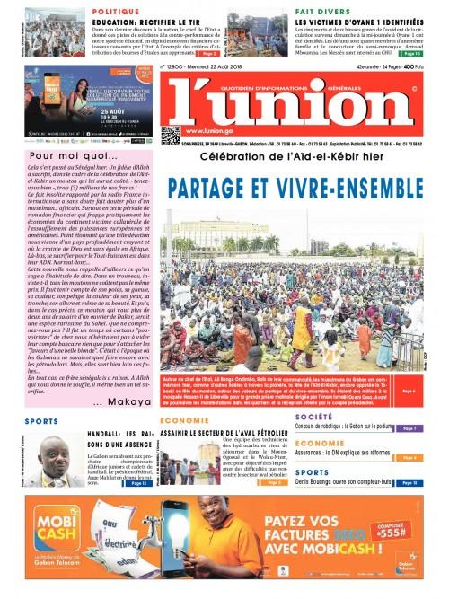 L'Union 22/08/2018