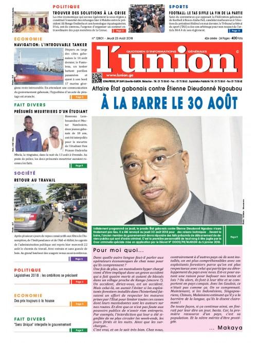 L'Union 23/08/2018