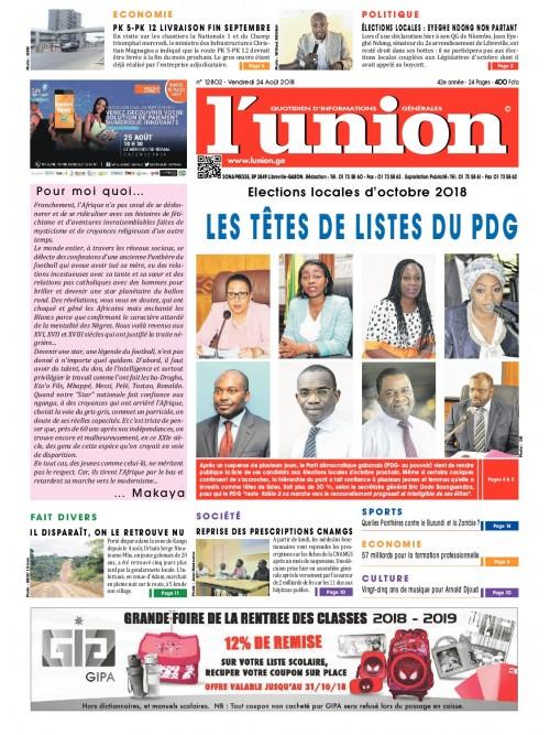 L'Union 24/08/2018