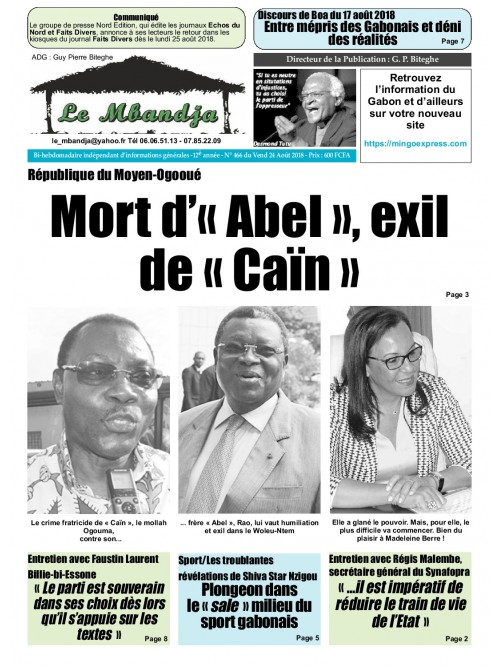 Le Mbandja 24/08/2018