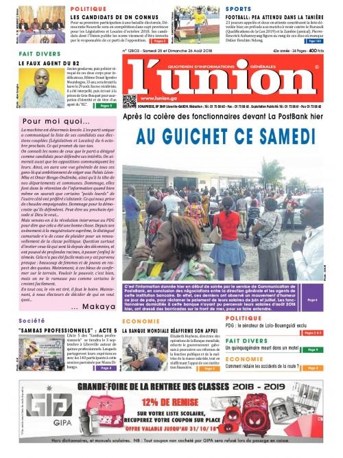 L'Union 25/08/2018