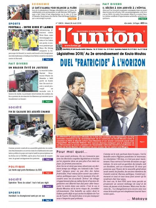 L'Union 28/08/2018
