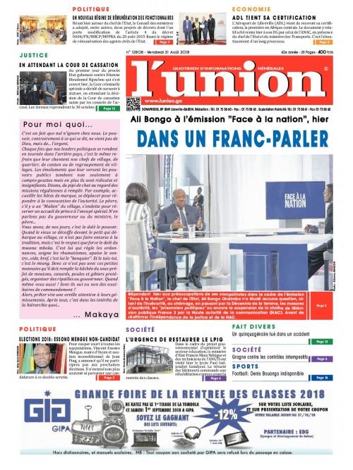 L'Union 31/08/2018