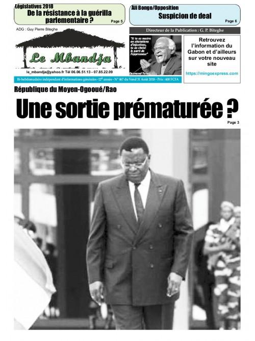 Le Mbandja 31/08/2018