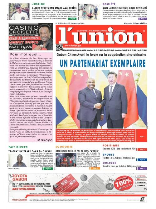 L'Union 03/09/2018