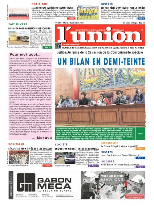 L'Union 04/09/2018